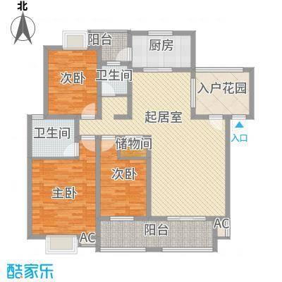 丹桂苑135.98㎡丹桂苑户型10室