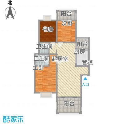三和南锦114.80㎡三和南锦户型图三、四、五栋(多层)C型3室2厅2卫1厨户型3室2厅2卫1厨