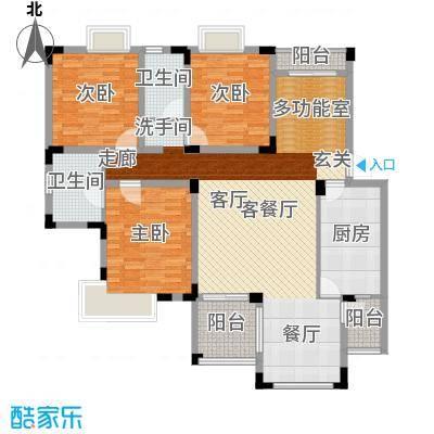 中海国际社区碧林140.00㎡中海国际社区碧林户型图户型图3室2厅2卫1厨户型3室2厅2卫1厨