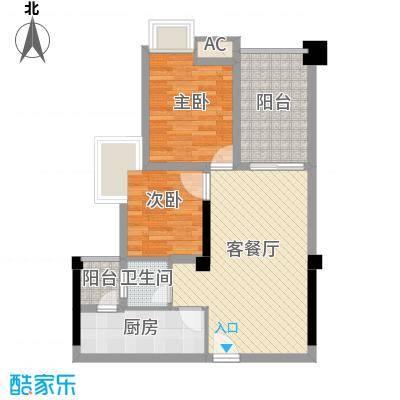 香榭国际2期B3户型10室