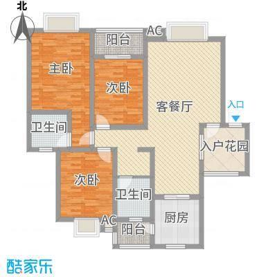 丹桂苑128.58㎡丹桂苑户型10室