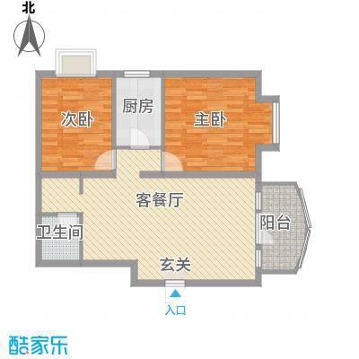 新街坊佳兴园92.46㎡2室2厅1卫1厨