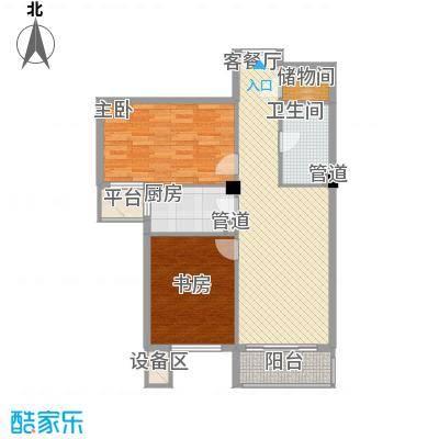 通惠家园惠生园户型2室1厅1卫1厨
