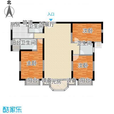 珠江罗马嘉园四期164.86㎡三期阅读阳光户型3室2厅2卫1厨