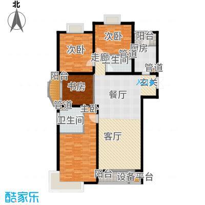 新华联丽景166.70㎡L户型3室2厅2卫1厨
