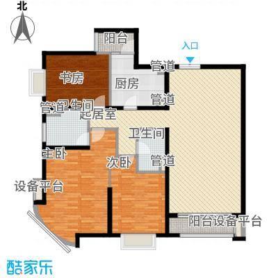 新华联丽景152.83㎡G户型3室2厅2卫1厨