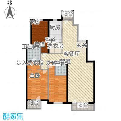 观筑庭园公寓212.00㎡观筑庭园公寓212.00㎡3室户型3室