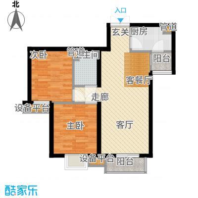 高杨树南里65.00㎡高杨树南里65.00㎡2室户型2室