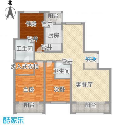 朝阳公园南路D户型3室2厅2卫1厨