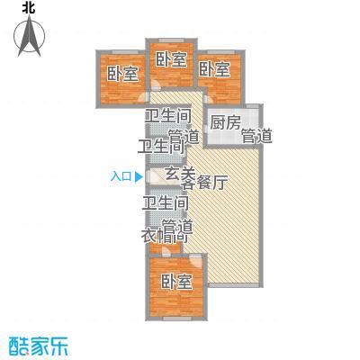 富成花园公寓181.08㎡富成花园公寓181.08㎡4室2厅2卫1厨户型4室2厅2卫1厨