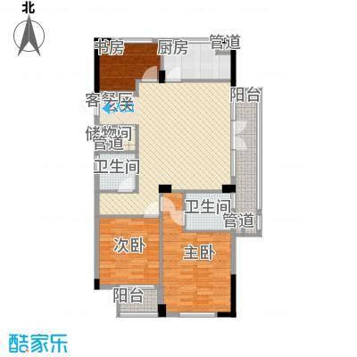 朝阳门公寓户型3室2厅2卫1厨