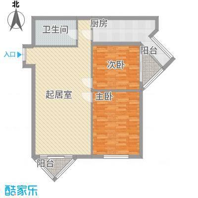 地汇华商国际公寓116.00㎡地汇华商国际公寓116.00㎡2室户型2室