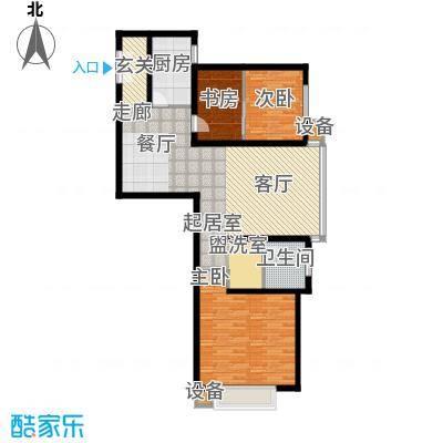百步滨江113.36㎡百步滨江户型10室
