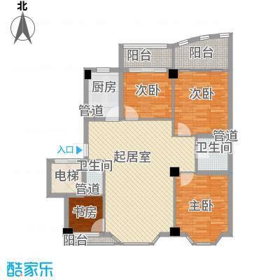 沁水景苑134.00㎡沁水景苑户型图4室2厅户型10室