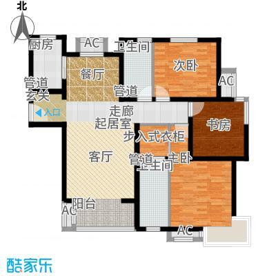 中建国际港138.00㎡G户型3室2厅2卫