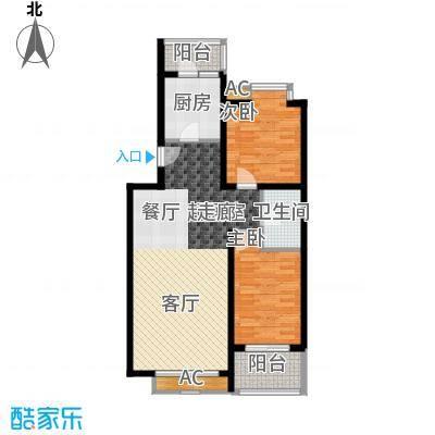 丽园B区丽园B区户型图B区39号楼标准层2室2厅1卫1厨户型2室2厅1卫1厨
