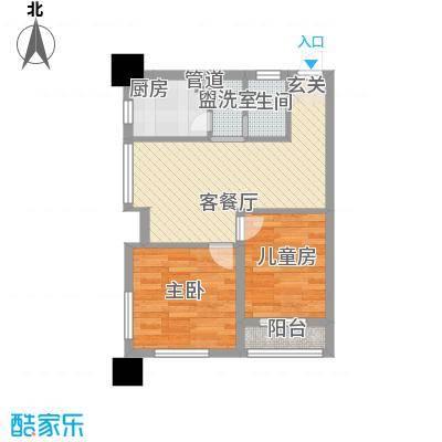 阳光金峰阁60.00㎡阳光金峰阁户型图户型图1室1室1厅1卫1厨户型1室1厅1卫1厨