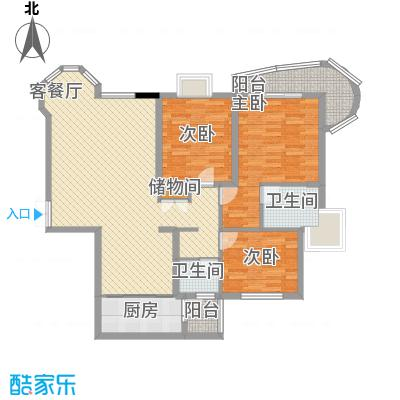 经干学院家属楼户型3室2厅2卫1厨
