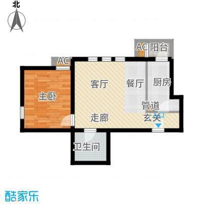 德盈大厦德盈大厦户型图户型图1室1室1厅1卫1厨户型1室1厅1卫1厨