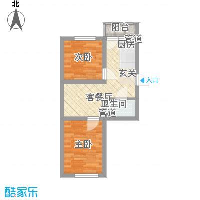 龙泽润宝50.00㎡龙泽润宝50.00㎡1室户型1室