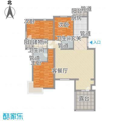 金色漫香林别墅金色漫香林别墅户型图户型图3室1厅2卫1厨户型3室1厅2卫1厨
