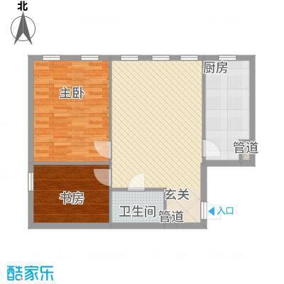 朗诗国际街区朗诗国际街区1室1厅1卫1厨户型1室1厅1卫1厨