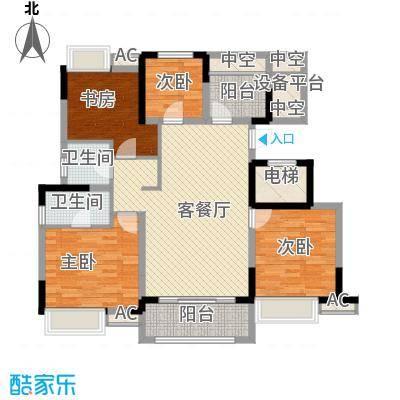 红豆香江豪庭C1户型10室