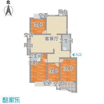 名佳嘉园146.23㎡名佳嘉园户型图4室2厅户型10室