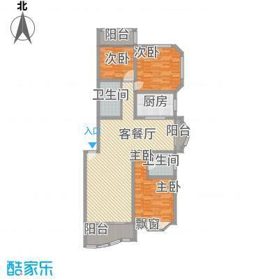 21世纪・世纪园153.00㎡21世纪・世纪园户型图21世纪世纪园3室2厅2卫1厨户型3室2厅2卫1厨