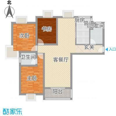 如月康城如月康城户型图户型图3室3室2厅1卫1厨户型3室2厅1卫1厨