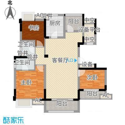 红豆香江豪庭B1户型10室
