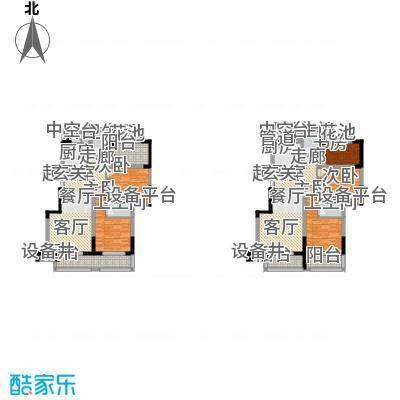 二期12、15、16幢标准层A户型(2013.1.23)