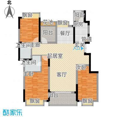 一期21-29幢2单元平层B户型