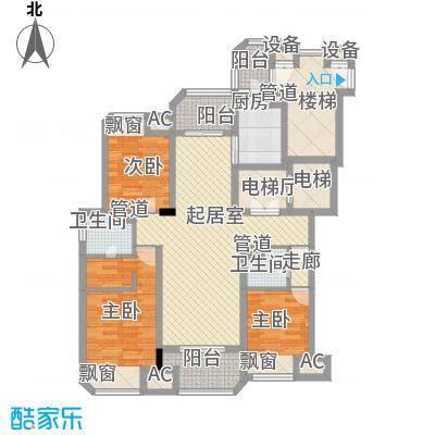 九期M-18幢洋房A户型