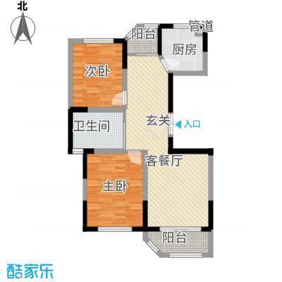 衡山城97.00㎡小高层A1型 已售完户型2室2厅1卫1厨