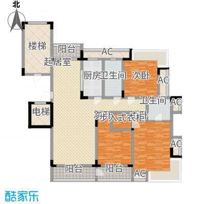 鱼尾狮223.00㎡鱼尾狮4室户型4室