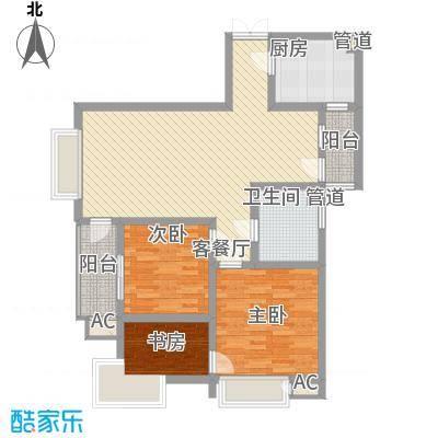 三丰公寓109.45㎡三丰公寓户型图户型A23室2厅1卫1厨户型3室2厅1卫1厨