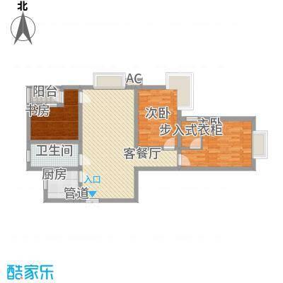 三丰公寓104.93㎡三丰公寓户型图户型E13室2厅1卫1厨户型3室2厅1卫1厨