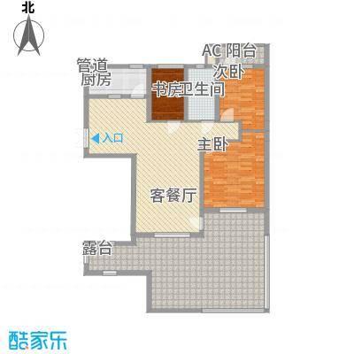 三丰公寓106.49㎡三丰公寓户型图户型F23室2厅1卫1厨户型3室2厅1卫1厨