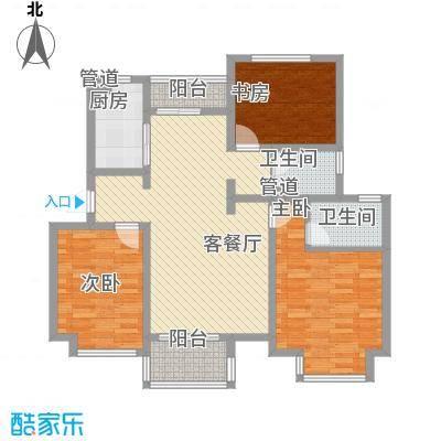 东郊小镇第三街区东郊小镇第三街区户型图户型图3室3室2厅2卫1厨户型3室2厅2卫1厨