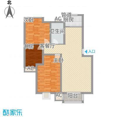 富馨花园114.90㎡富馨花园户型图F23室2厅1卫户型3室2厅1卫