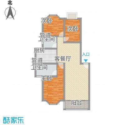 21世纪・世纪园120.00㎡21世纪・世纪园户型图21世纪世纪园3室2厅2卫1厨户型3室2厅2卫1厨