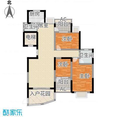 联泰香域尚城144.00㎡15#楼C5户型3室2厅2卫1厨