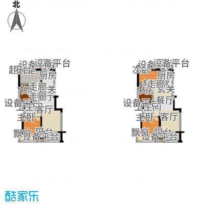 二期1幢标准层C户型(2013.1.23)