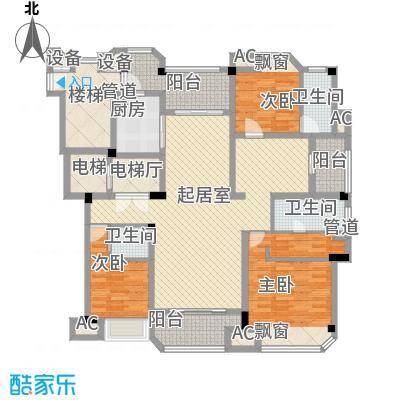 一期紫台组团2-8、11-12幢标准层C户型