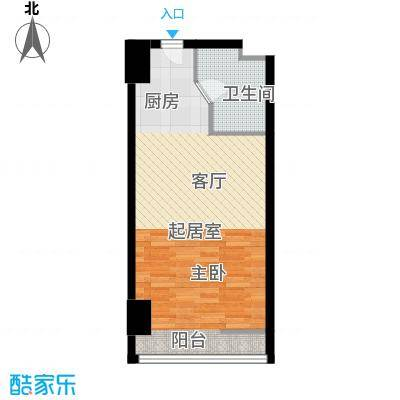 领�国际44-54㎡户型10室