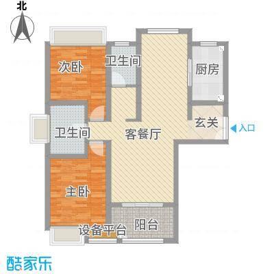 绿地21城C区绿地21城C区户型图22室1厅1卫1厨户型2室1厅1卫1厨