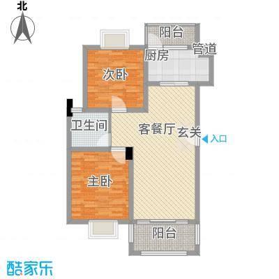 和兴东城103.00㎡和兴东城103.00㎡2室户型2室