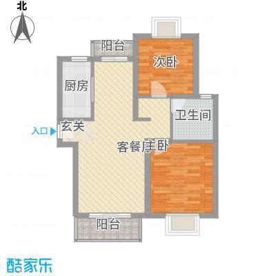 浦西新村79.00㎡浦西新村3室户型3室