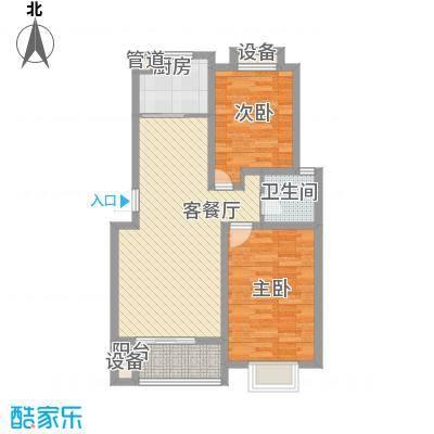 丽水湾92.00㎡丽水湾2室户型2室